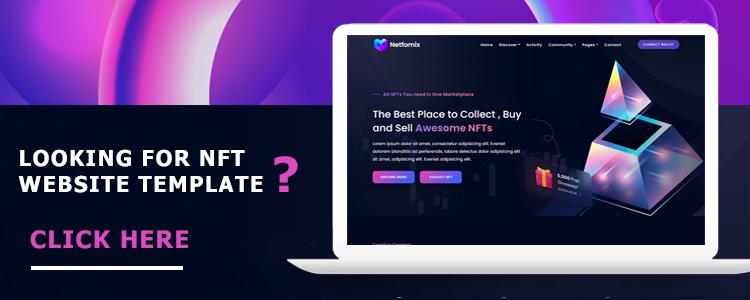 Netfomix- NFT Marketplace Template